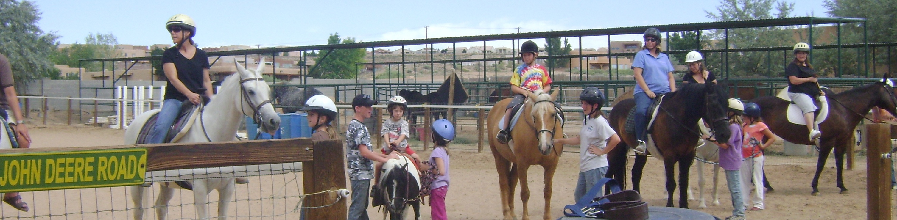 Riders at HIgh C Acres